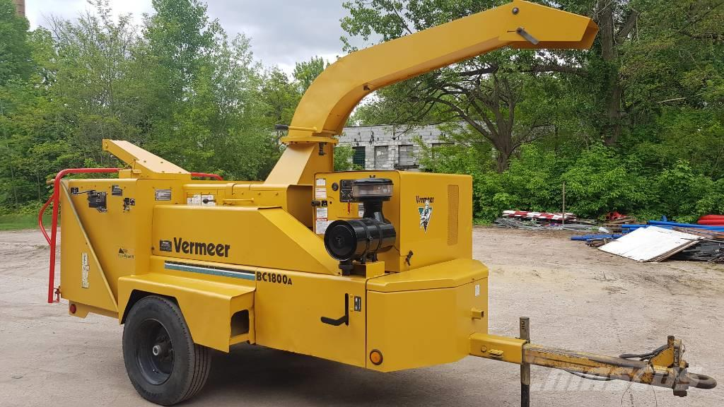 Vermeer BC1800A Chipper shredder crusher rebak