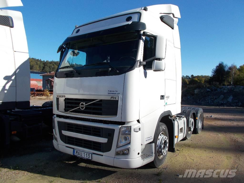used volvo fh 460 6x2 hydraulik 12 tractor units year. Black Bedroom Furniture Sets. Home Design Ideas