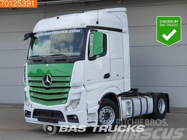 Mercedes-Benz Actros 1845 4X2 Retarder 2x Tanks StreamSpace Euro