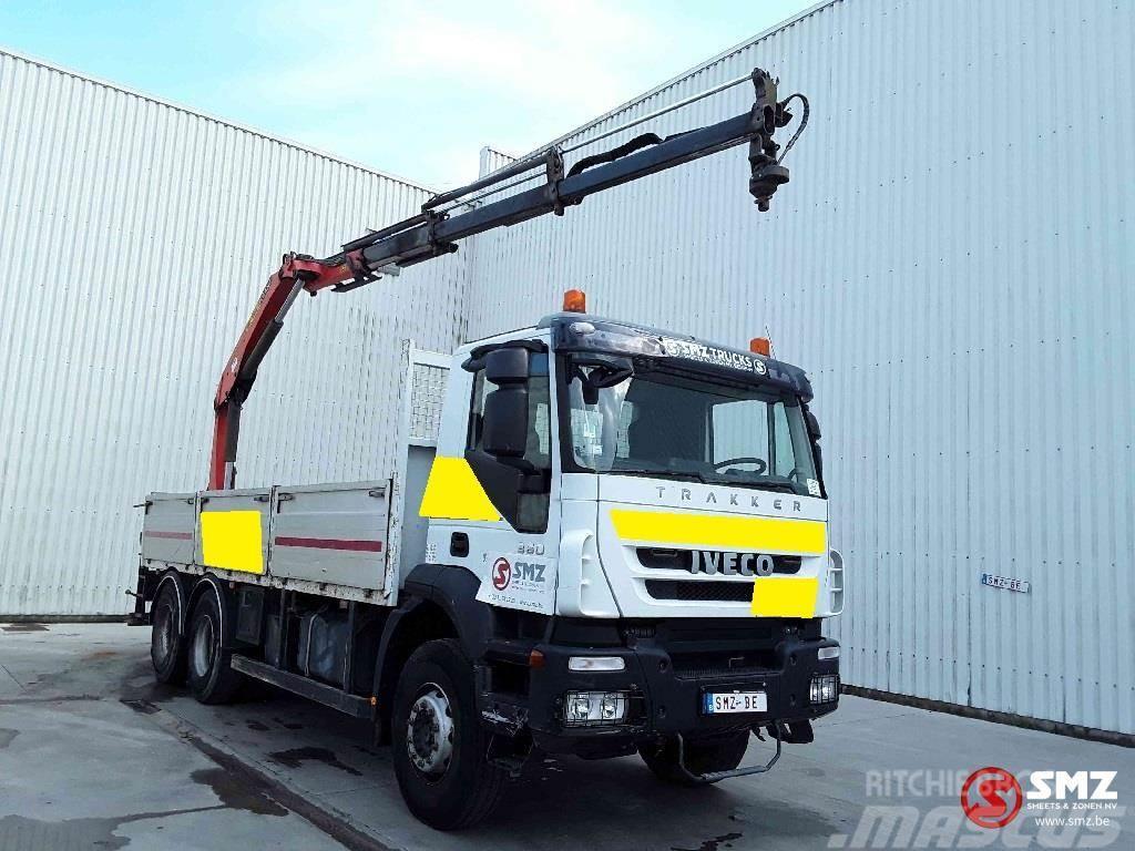 Iveco Trakker 360 palfinger Pk15500/3