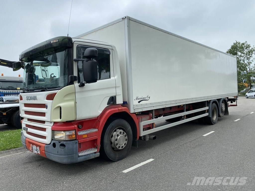 Scania P230 6X2 - 258.337 KM - BOX 9,72 METER + LAADKLEP