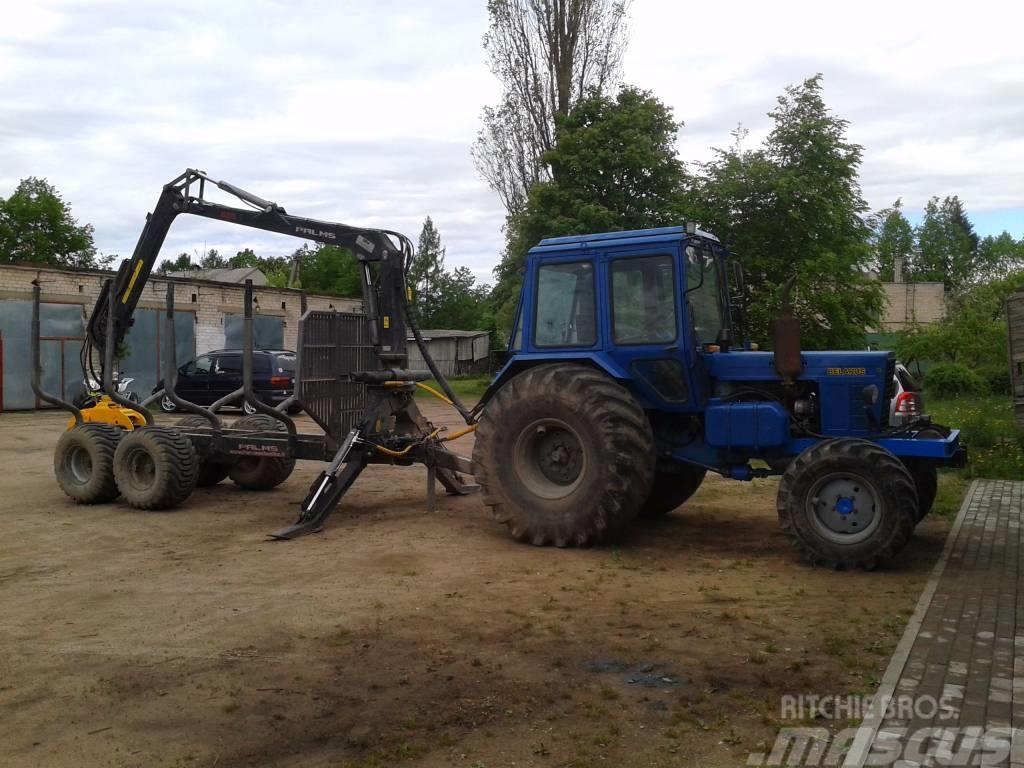 [Other] Miško technika Miško traktoriai