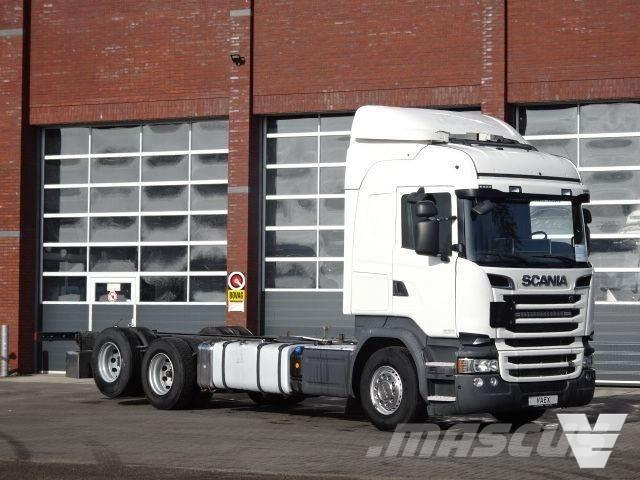 Scania R580 6x2 Highline - Chassis - Full air - Navi - 75