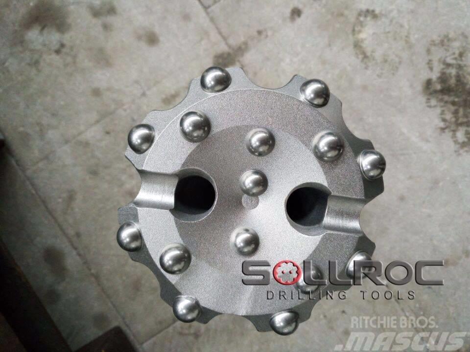 Sollroc DTH bits QL60, Mach44, NUAM125 shank, DTH
