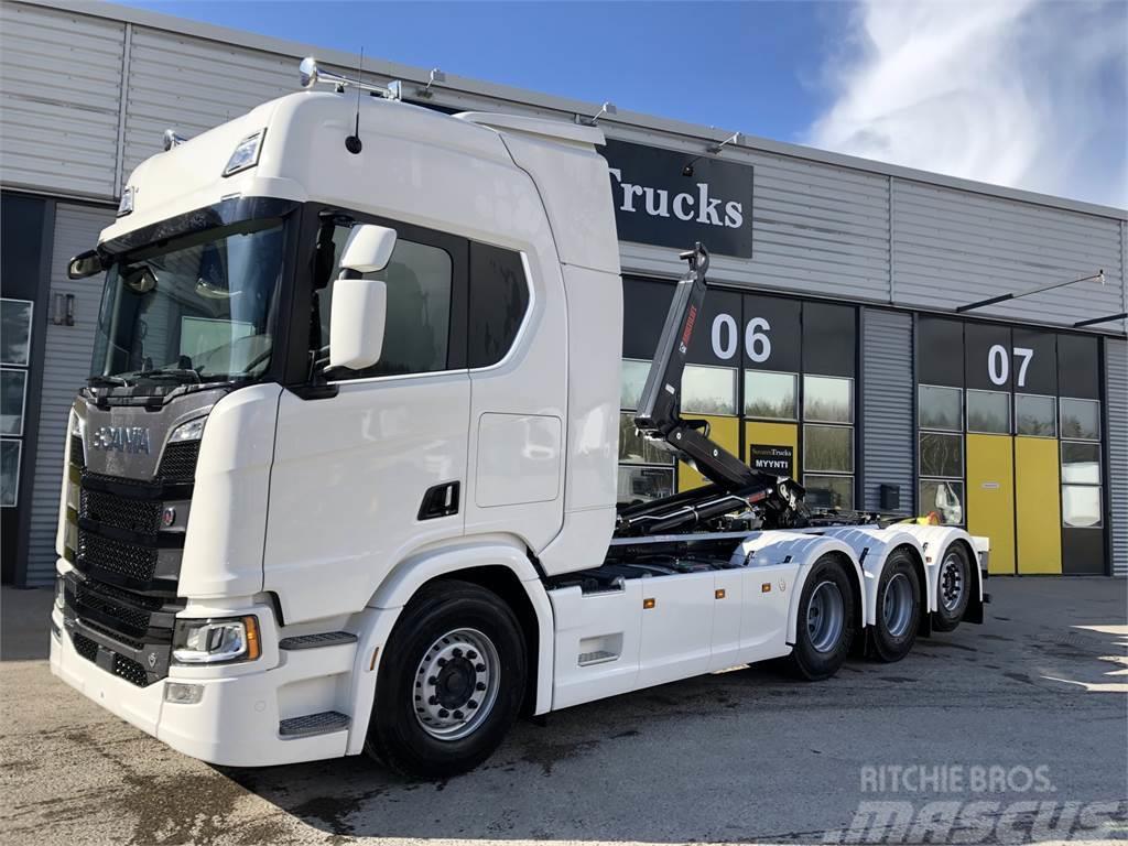 Scania R580 8x4 Tridem uusi