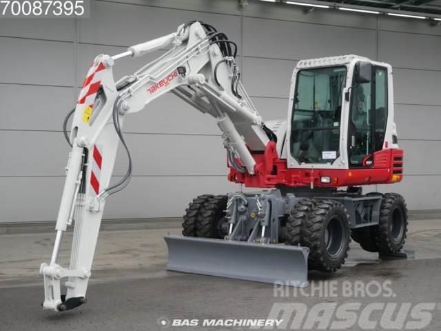 Takeuchi TB295W 4X4 New unused 2017 machine. Incl outrigger