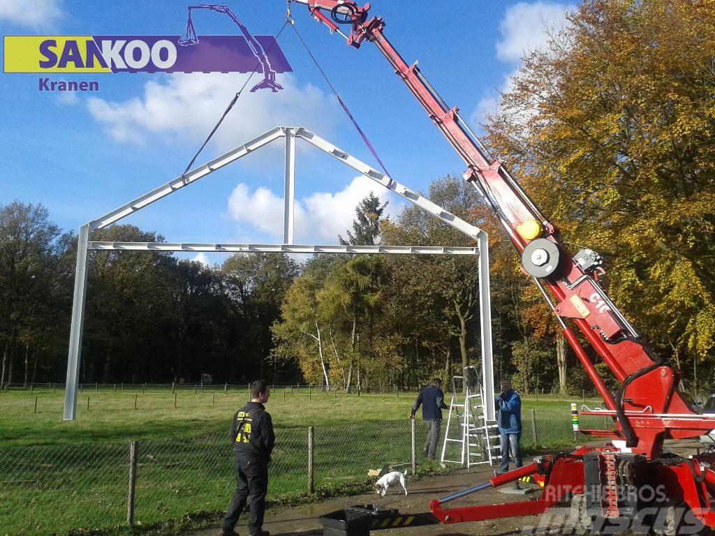 Sankoo MHK SK10 minihijskraan / compactkraan