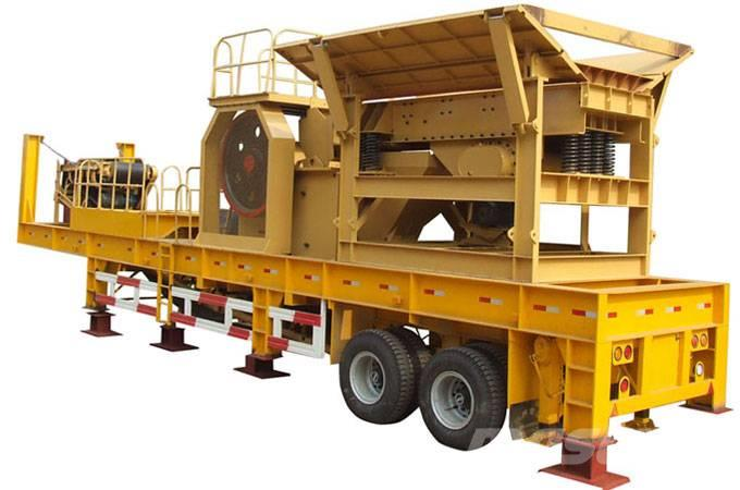White Lai Mobile Jaw Crusher Crushing Plant WL938E69