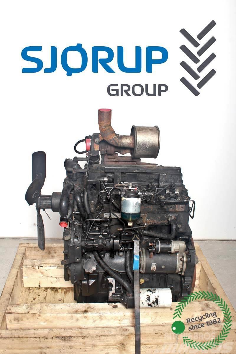 Massey Ferguson 4255 Engine