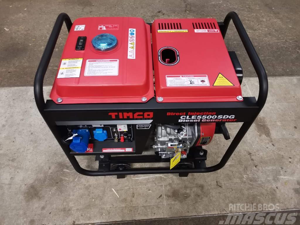 Timco CLE5500SDG 230V DIESEL aggregaatti