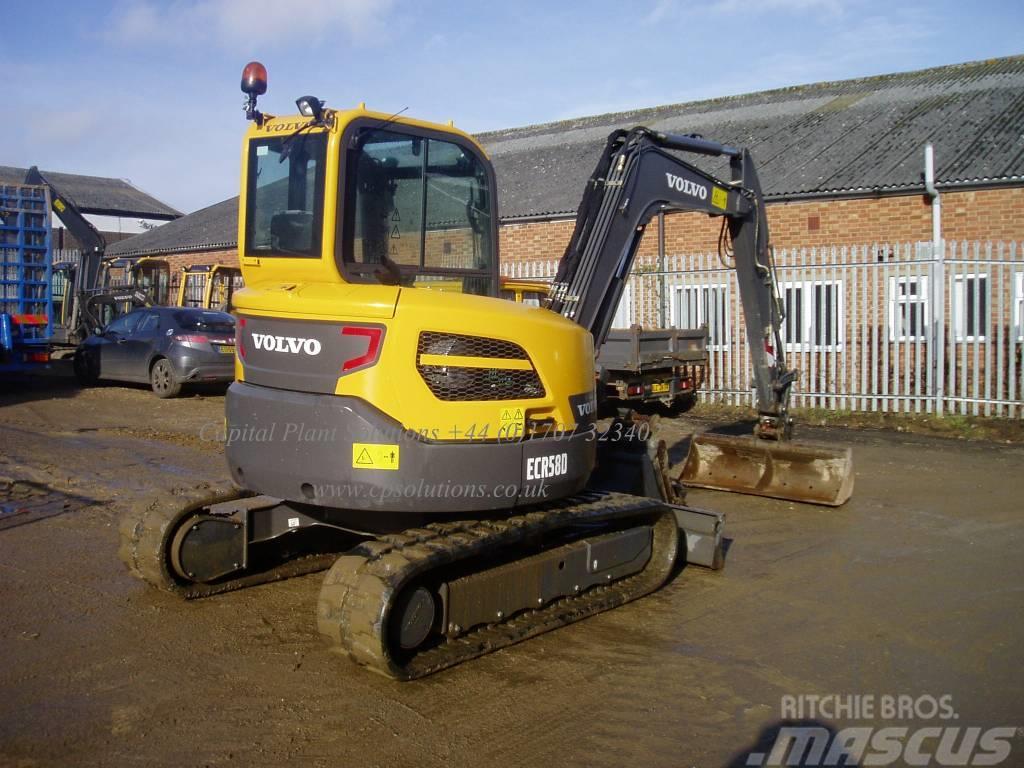 Volvo Ecr 58 D Welwyn Garden City Mini Excavators