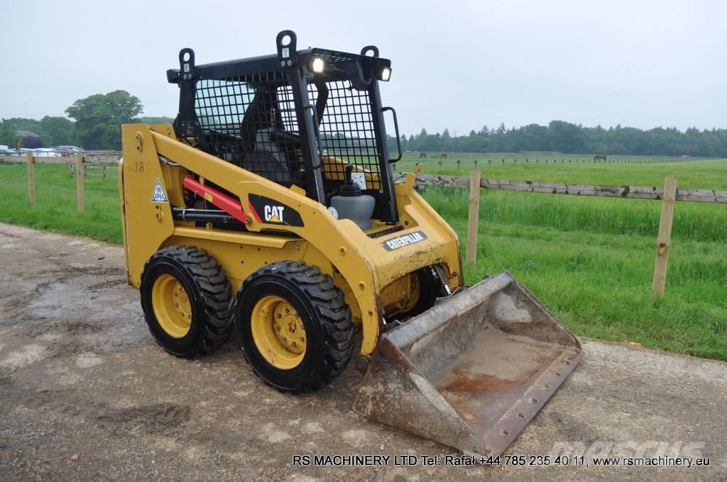 Caterpillar 216B3 COMPACT WHEELED / SKID STEER LOADER 714hours