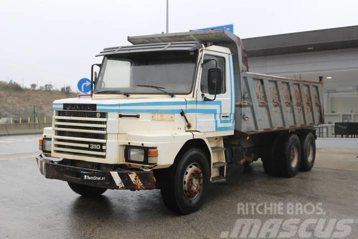 Scania T 113 310 1 SIDE TIPPER BIG AXLES