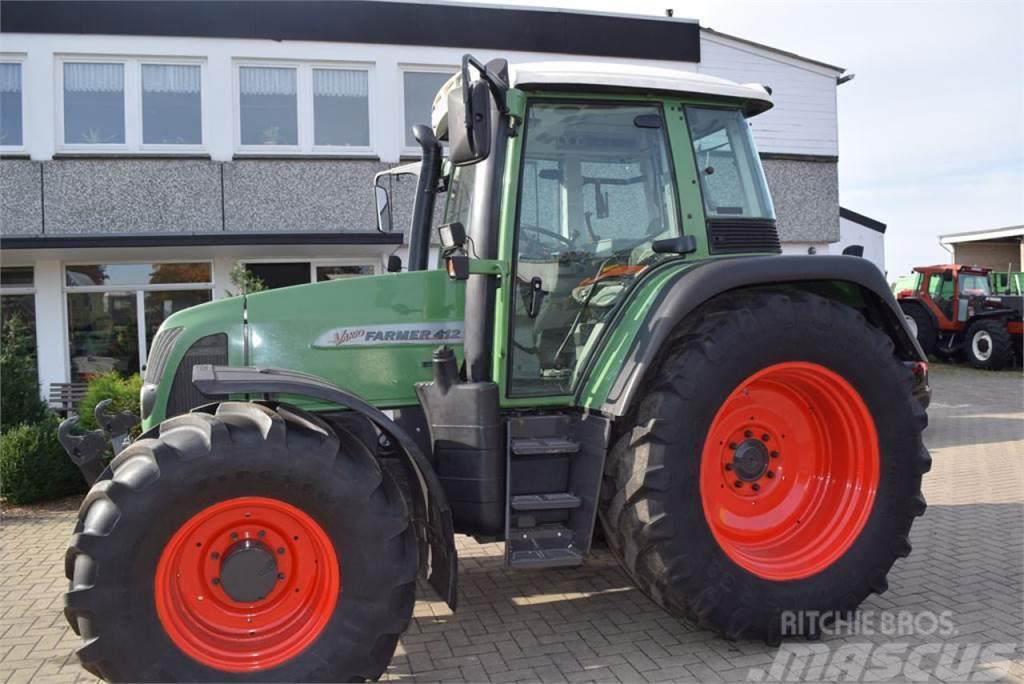 fendt 412 vario gebrauchte traktoren gebraucht kaufen und. Black Bedroom Furniture Sets. Home Design Ideas