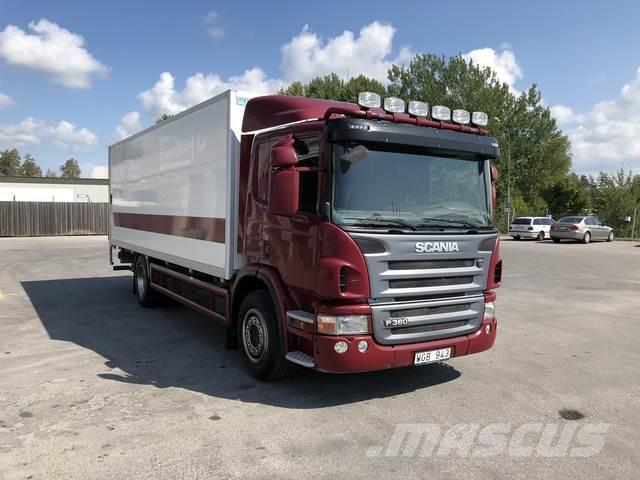 Used Scania P-serie box trucks Year: 2011 for sale - Mascus USA