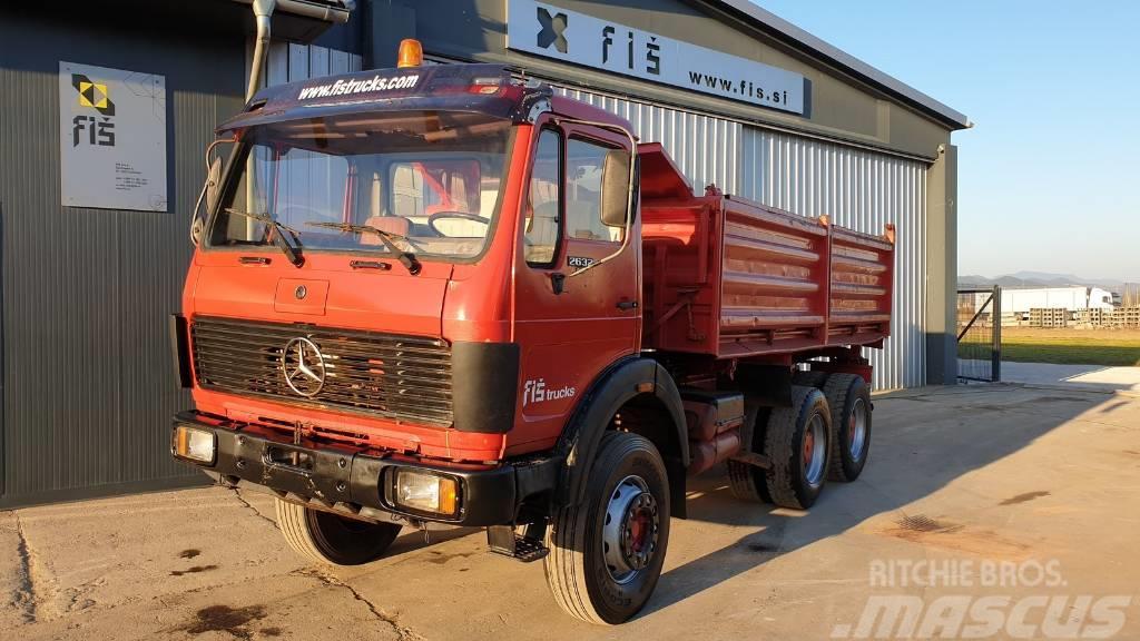 Mercedes-Benz 2632 K 6X4 meiller tipper