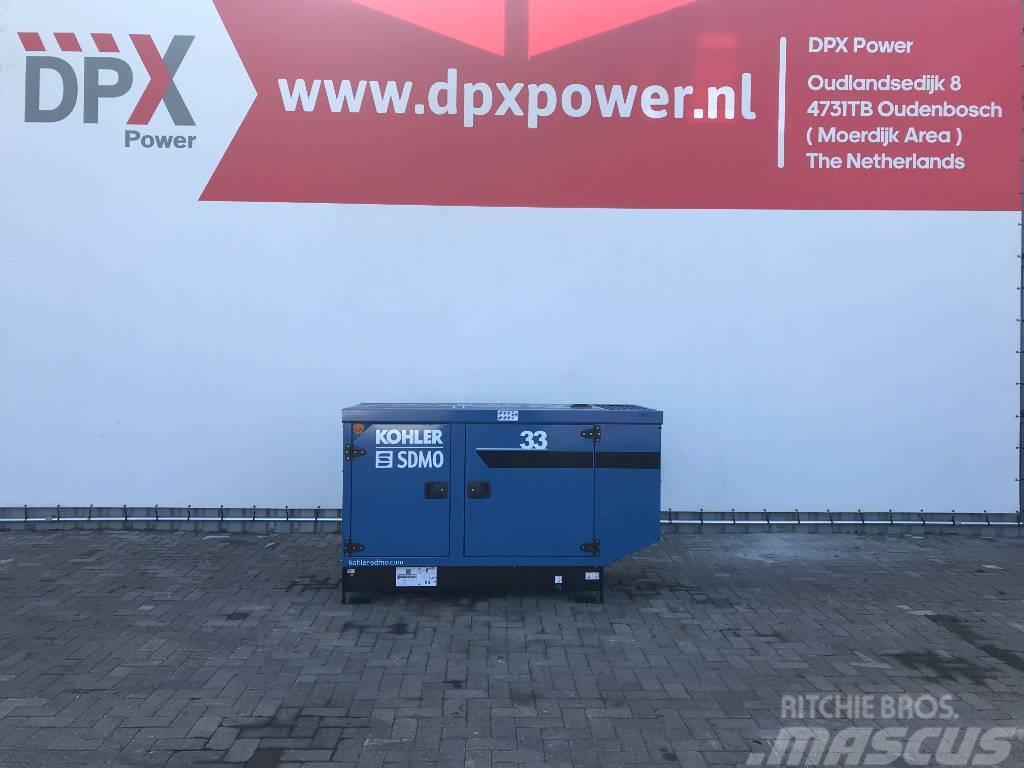 Sdmo K33 - 33 kVA Generator - DPX-17004