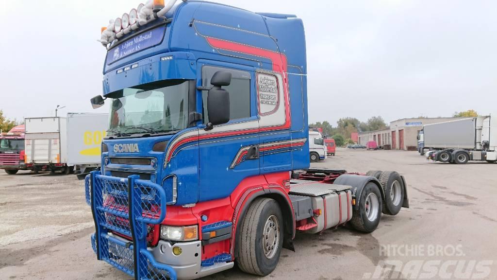 Scania R560LA6X2HNA RETARDER+HYDRAULICS