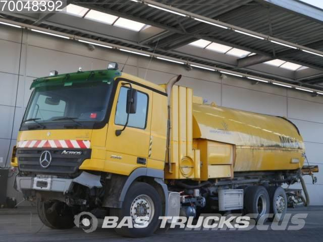 Mercedes-Benz Actros 2546 L Unfall 6X2 Runway Cleaner Airport-Ro