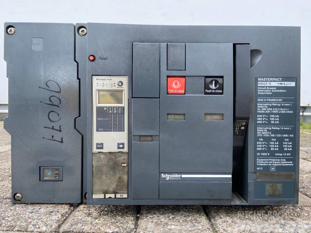 Schneider NW25H Breaker - 2.500A - DPX-99077