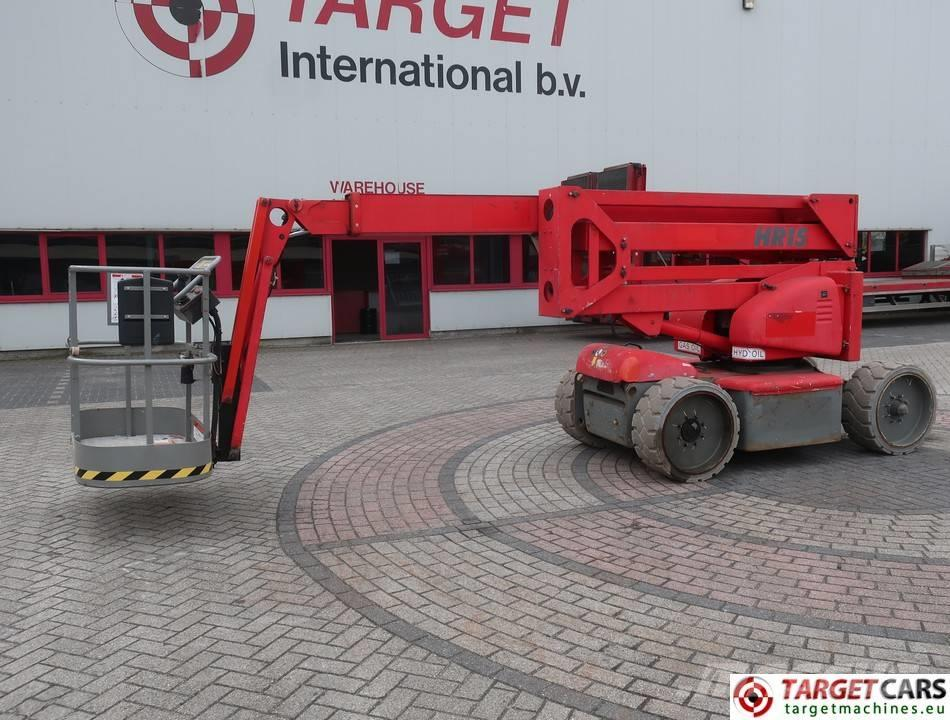 Niftylift HR15NDE BiFuel Articulated Boom Lift 1550cm
