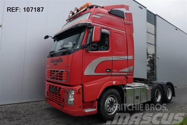 Volvo FH16.660 6X2 GLOBETROTTER XL HUB REDUCTION EURO 4