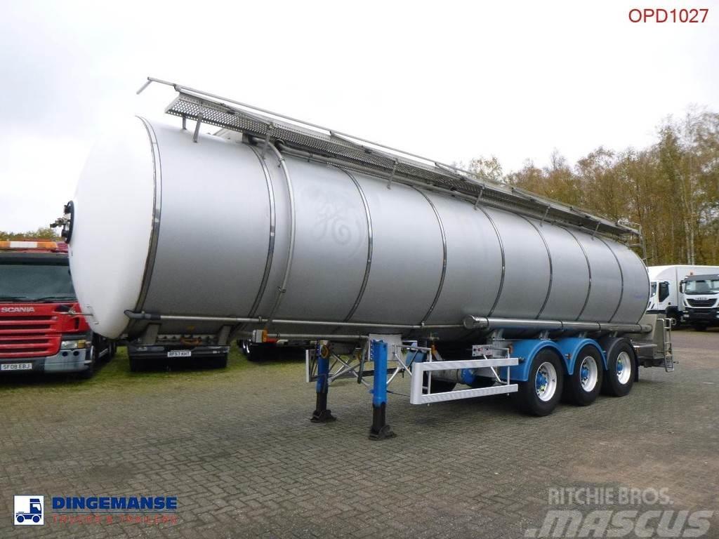 Magyar Food tank inox 36 m3 / 1 comp + Pump