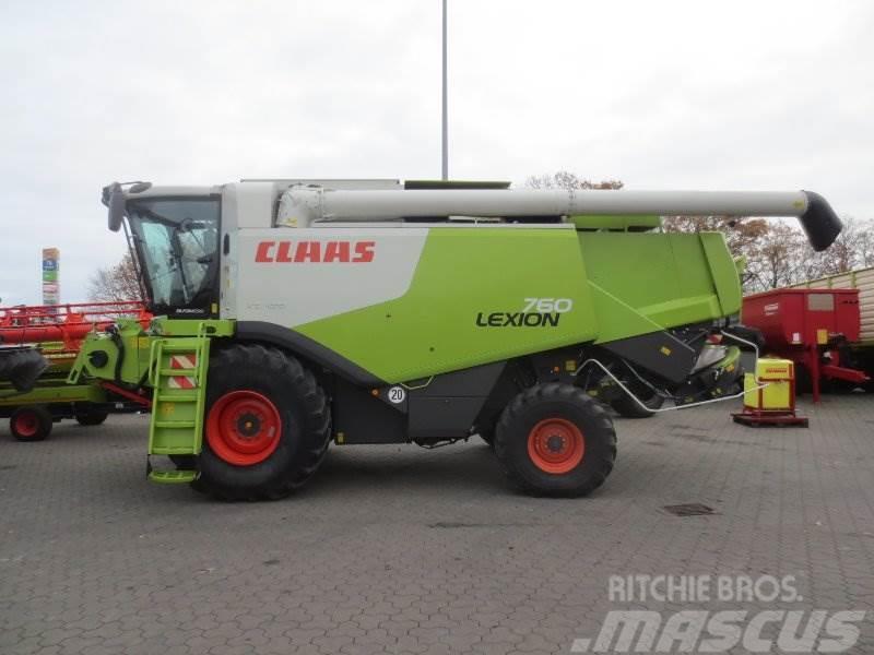 CLAAS Lexion 760 mit Vario 900