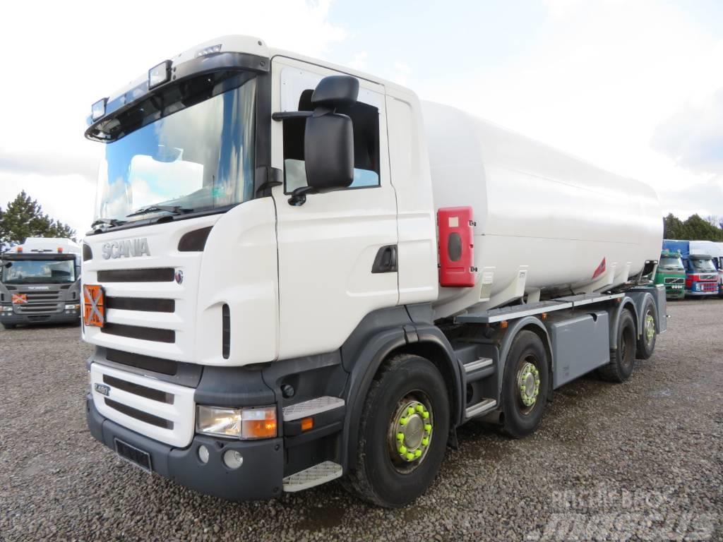 Scania R480 8x2*6 24.000 l. ADR Euro 5