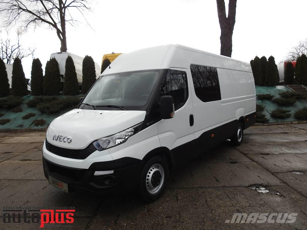 Iveco DAILY 35S13 VAN DOUBLE CABIN 7 SEATS TEMPOMAT