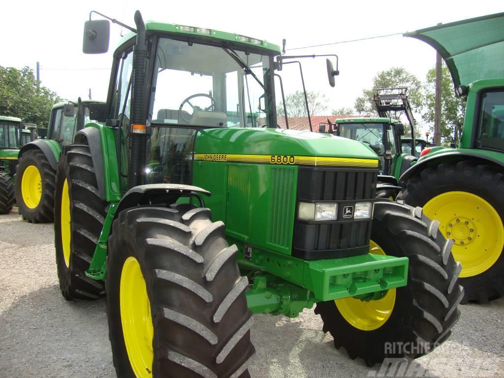 john deere 6800 gebrauchte traktoren gebraucht kaufen und. Black Bedroom Furniture Sets. Home Design Ideas