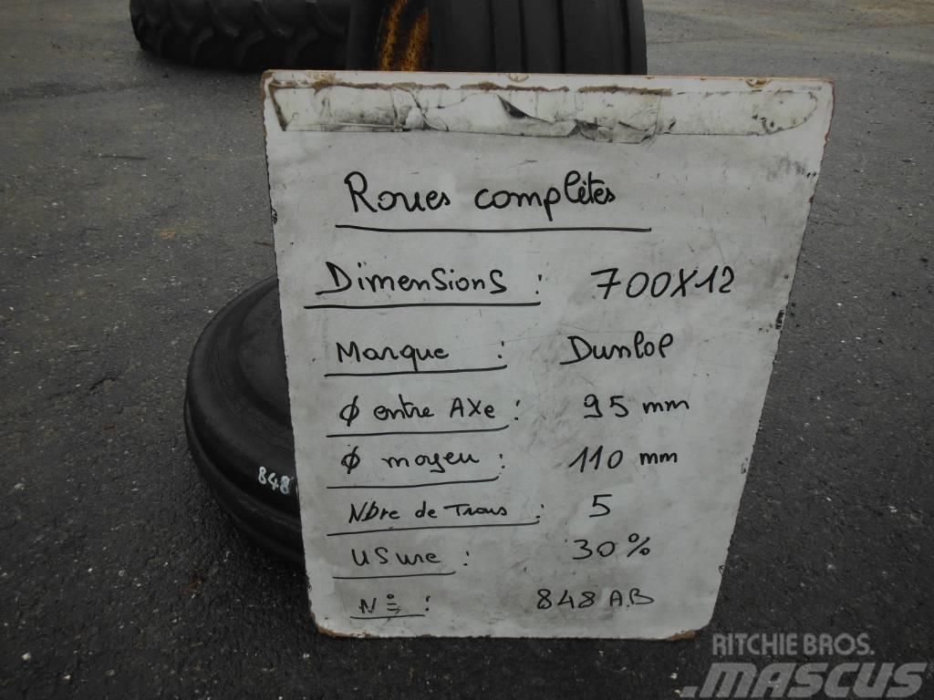 Dunlop 700X12 848 AB