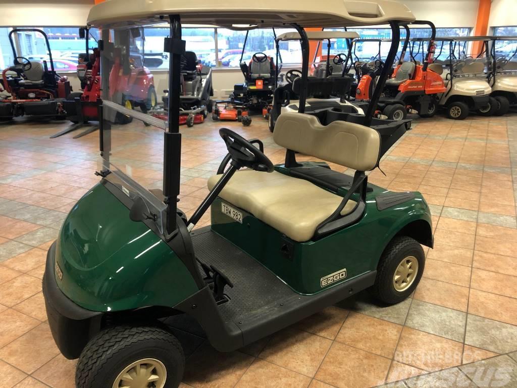 Ezgo RXV Golfbil Grön NY