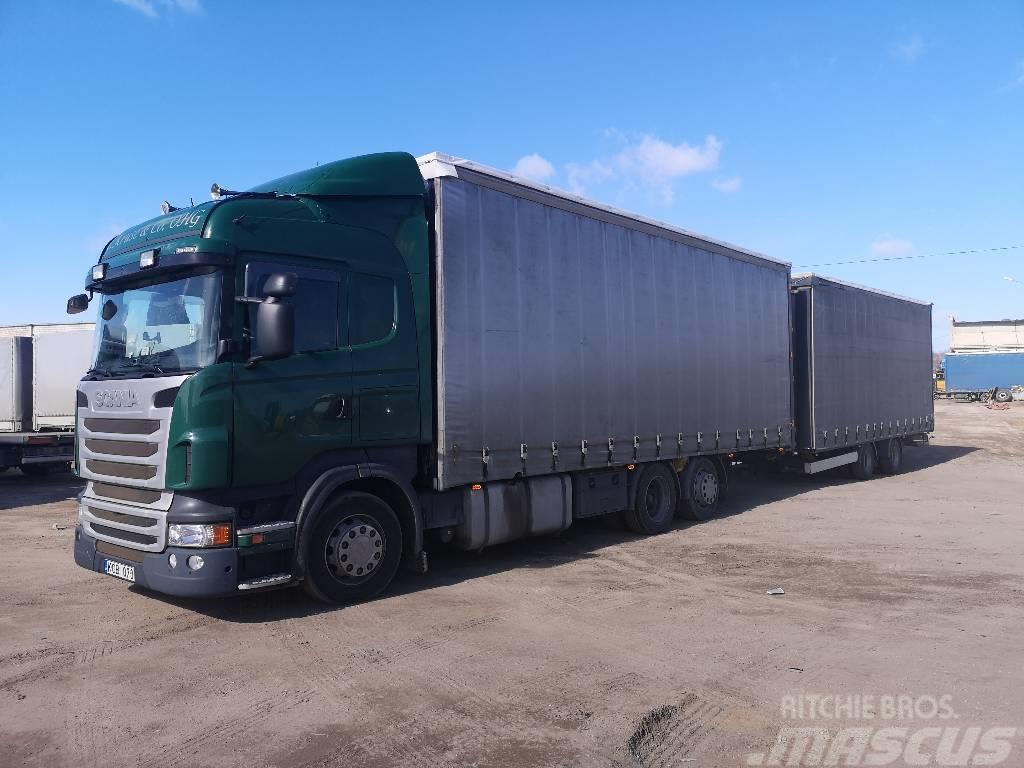 Scania R440 6x2 Jumbo