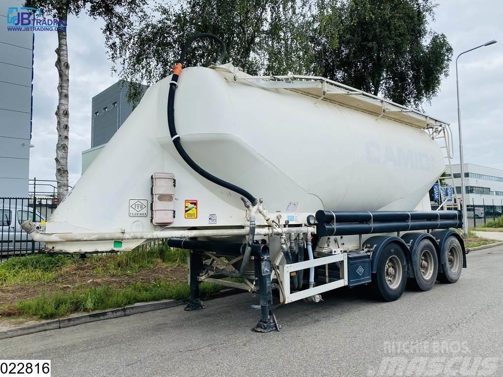 Feldbinder Silo 36000 Liter, Silo, Bulk