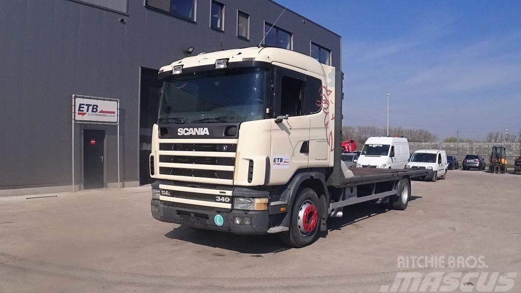 Scania 114 - 340 (MANUAL GEARBOX / BOITE MANUELLE)