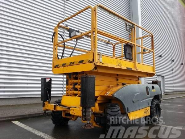 Haulotte Nacela foarfeca diesel COMPACT 12DX
