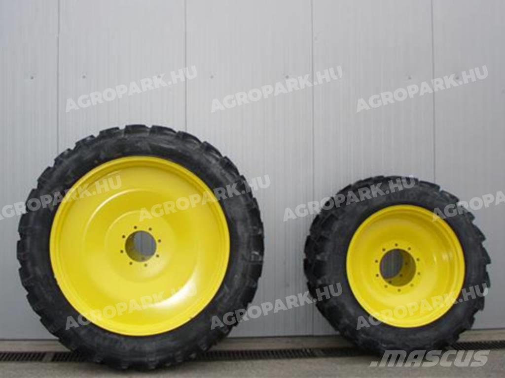 BKT New Row crop wheel set with BKT 11.2R32 and 12.4R4
