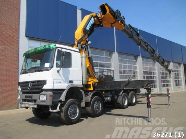 Mercedes-Benz Actros 4144 8x8 Effer 115 ton/meter Kran (2011)