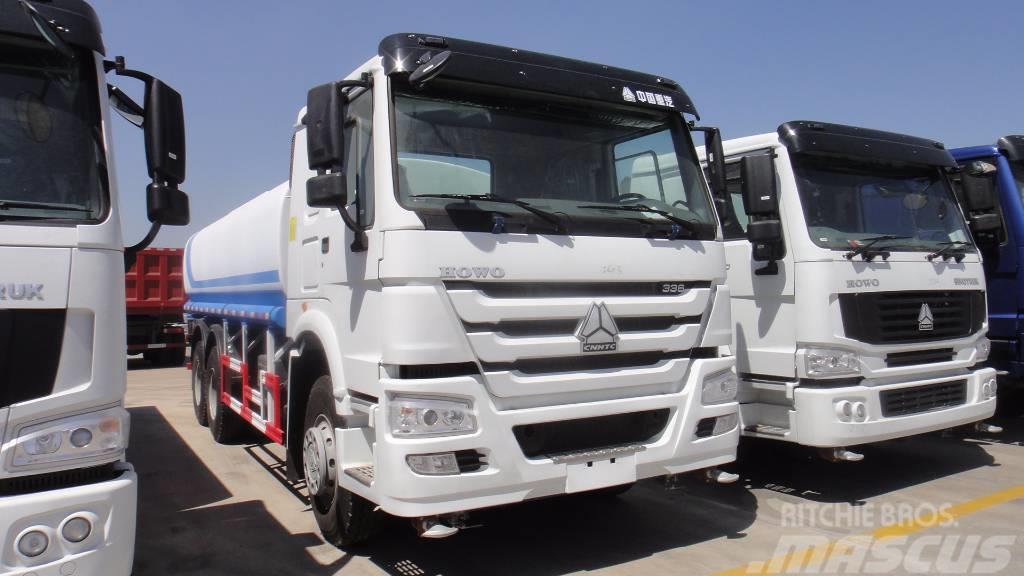 Sinotruk HOWO 6X4 371hp Water Truck ZZ1257S4641W