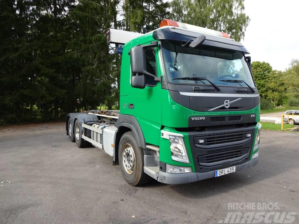 Volvo EURO 6 FM 450 6x2*4