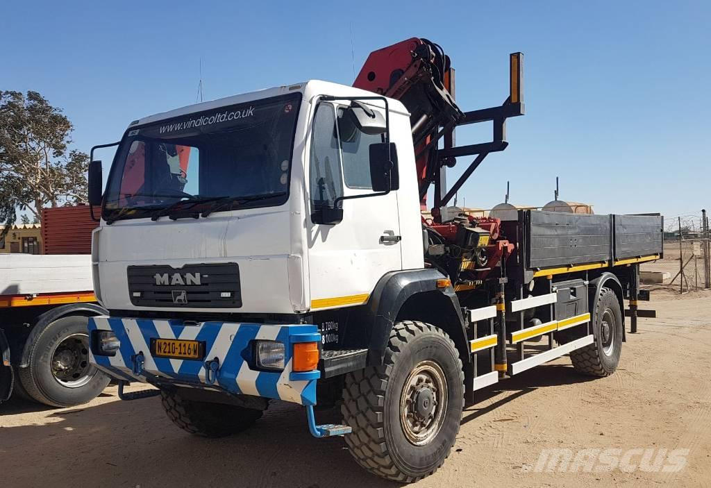 MAN M2000 4x4 Rigid Dropside
