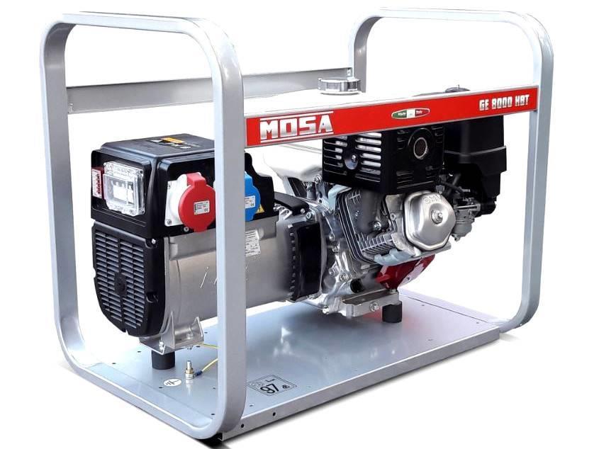 Mosa Stromerzeuger GE 8000 HBT 8 kVA / 400V / 11.5A