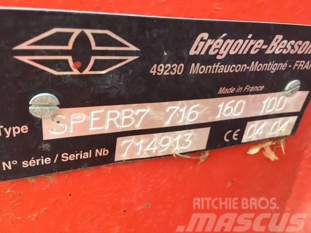 Gregoire-Besson SPER B7, 2004, Växelplogar