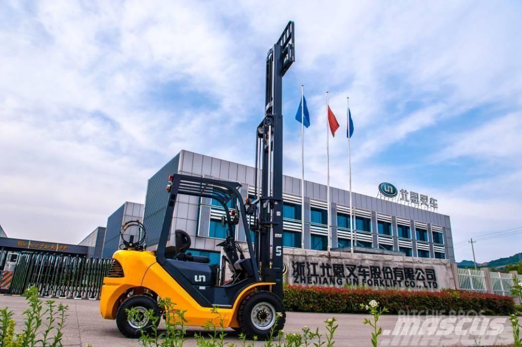 UN Forklift FD30T 3T Diesel Forklift Yanmar