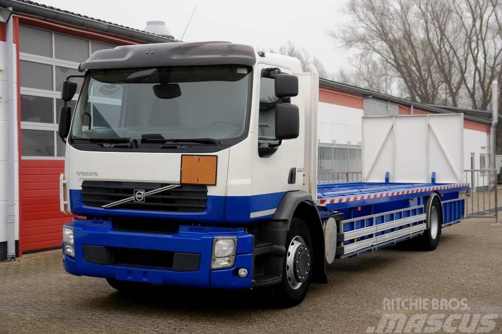 Volvo FE260 Gastransporter ADR Klima Retarder E5 TÜV