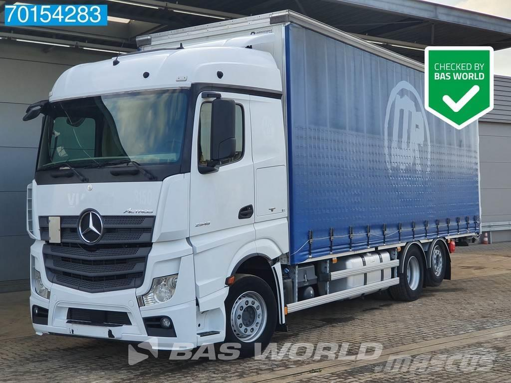 Mercedes-Benz Actros 2545 6X2 Liftachse Powershift 2x Tanks Euro