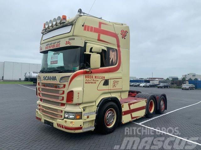 Scania R500 V8 R500, full air,retarder,hydrauliek