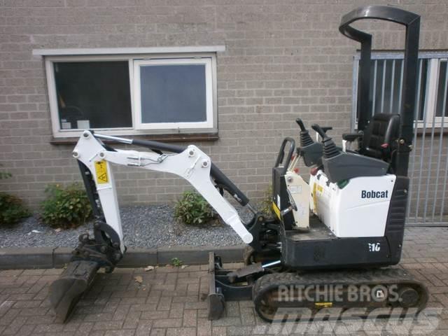 Bobcat E10 Minigraver ( Bj 2012) SERVO Verstelbaar