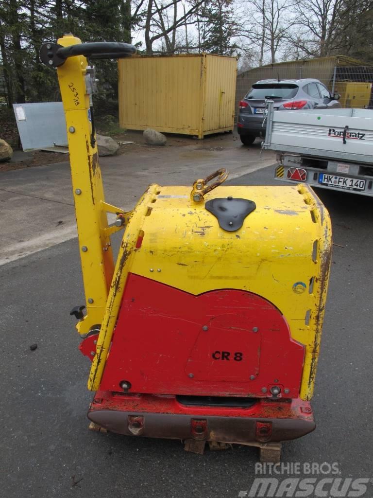 Weber CR 8 Rüttelplatte Bodenverdichter 587 KG